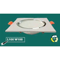 Đèn Led Âm Trần WQ3 L 9762 L120xW120xH32