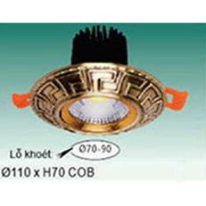 Đèn Led Âm Trần WQ3 L 9712 Ø110xH70