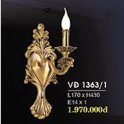 Đèn Tường Nến Đồng HP6 VĐ 1363/1 L170xH430