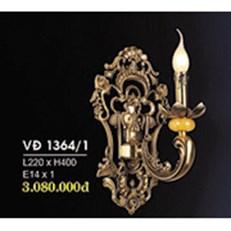Đèn Tường Nến Đồng HP6 VĐ 1364/1 L220xH400