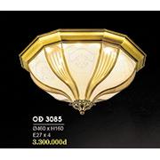 Đèn Áp Trần Đồng HP6 OĐ 3085 Ø460xH160