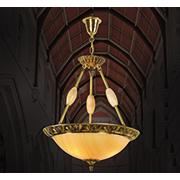 Đèn Thả Đồng HP6 TĐ 217 Ø500xH560+450