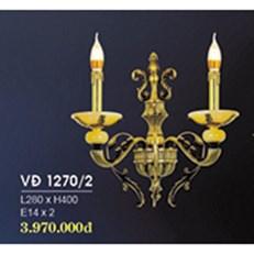 Đèn Tường Nến Đồng HP6 VĐ 1270/2 L280xH400