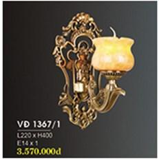 Đèn Tường Nến Đồng HP6 VĐ 1367/1 L220xH400
