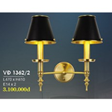 Đèn Tường Đồng HP6 VĐ 1362/2 L470xH410