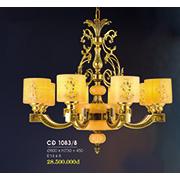 Đèn Chùm Nến Đồng HP6 CĐ 1083/8 Ø800xH730+450
