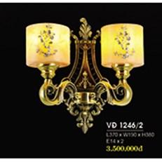 Đèn Tường Nến Đồng HP6 VĐ 1246/2 L370xW190xH380