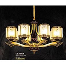 Đèn Chùm Đồng HP6 CĐ 6205/8 Ø880xH560+450