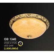Đèn Áp Trần Đồng HP6 OĐ 1340 24W Ø300xH126