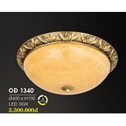 Đèn Áp Trần Đồng HP6 OĐ 1340 36W Ø400xH130