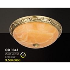 Đèn Áp Trần Đồng HP6 OĐ 1341 36W Ø400xH130
