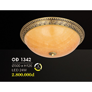 Đèn Áp Trần Đồng HP6 OĐ 1342 24W Ø300xH126