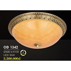 Đèn Áp Trần Đồng HP6 OĐ 1342 36W Ø400xH130