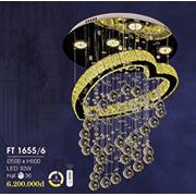 Đèn Thả Pha Lê HP6 FT 1655/6 Ø500xH800