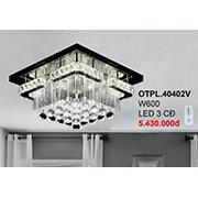 Đèn Mâm Pha Lê CTK7 OTPL.40402V W600