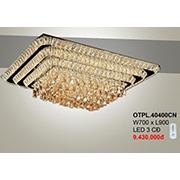 Đèn Mâm Pha Lê CTK7 OTPL.40400CN W700xL900