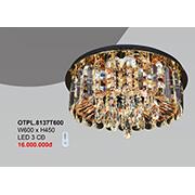 Đèn Mâm Pha Lê CTK7 OTPL.8137T600 W600xH450