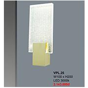 Đèn Tường Pha Lê CTK7 VPL.25 W100xH200