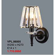Đèn Tường Pha Lê CTK7 VPL.86005 W250xH270