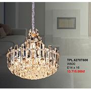 Đèn Chùm Pha Lê CTK7 TPL.6270T600 W600