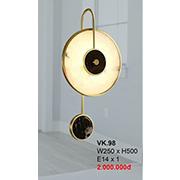 Đèn Tường Trang Trí CTK7 VK.98 W250xH500