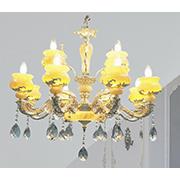 Đèn Chùm Pha Lê Nến CTK8 DC.8076/12 L850xH650