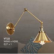 Đèn Tường Trang Trí CTK8 VT.22 W500xH200