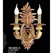 Đèn Tường Nến Đồng SN5 VĐ 2039/2 Ø300xH480