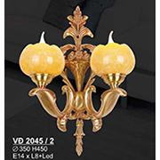 Đèn Tường Nến Đồng SN5 VĐ 2045/2 Ø350xH450