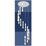 Đèn Thả LED SN5 T 2170/12+1 Ø400xH2000