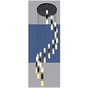 Đèn Thả LED SN5 T 2171/12+1 Ø400xH2000
