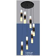 Đèn Thả LED SN5 T 2172/6+1 Ø320xH1500