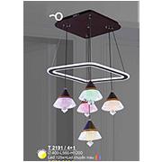 Đèn Thả LED SN5 T 2191/4+1 Ø400xL560xH1200
