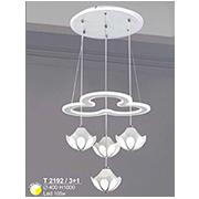 Đèn Thả LED SN5 T 2192/3+1 Ø400xH1000