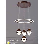 Đèn Thả LED SN5 T 2194/3+1 Ø400xH1000