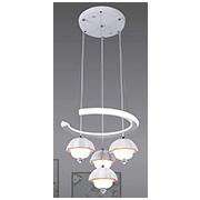 Đèn Thả LED SN5 T 2196/3+1 Ø400xH1000