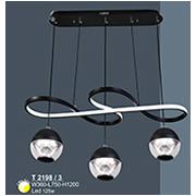 Đèn Thả LED SN5 T 2198/3 W360xL750xH1200
