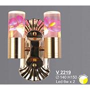 Đèn Tường Pha Lê SN5 V 2219 Ø140xH150