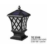 Đèn Trụ Cổng SN5 TC 2310 200xL200xH340