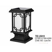 Đèn Trụ Cổng SN5 TC 2311 165xL165xH285