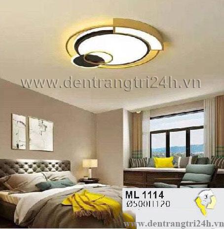 Đèn áp trần LED WQ5 ML 1114 Ø500xH120