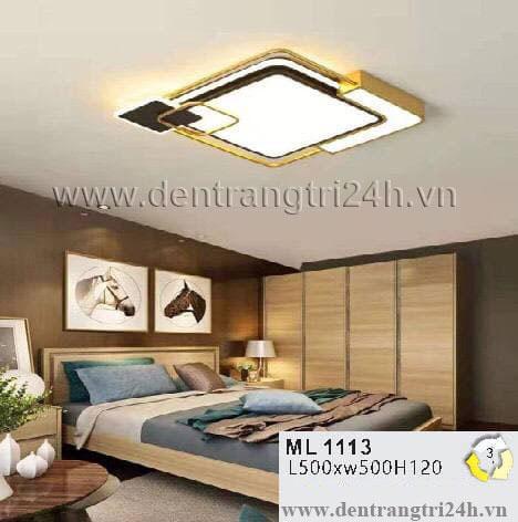 Đèn áp trần LED WQ5 ML 1113 L500xW500xH120