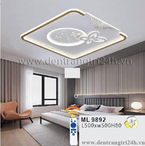 Đèn áp trần LED WQ5 ML 9892 L500xW500xH80