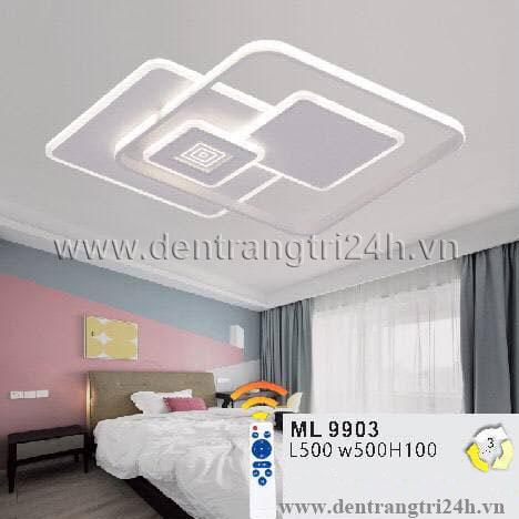 Đèn áp trần LED WQ5 ML 9903 L500xW500xH100