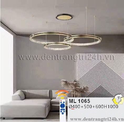 Đèn Thả Nghệ Thuật WQ5 ML 1065 Ø400-500-600xH1000