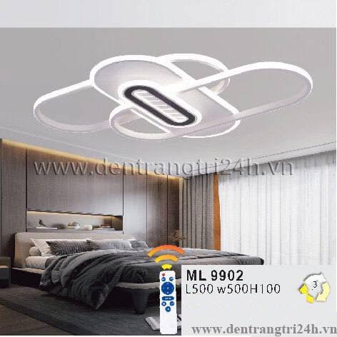 Đèn áp trần LED WQ5 ML 9902 L500xW500xH100