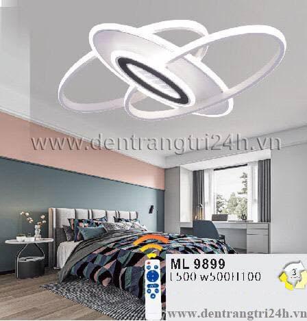 Đèn áp trần LED WQ5 ML 9899 L500xW500xH100