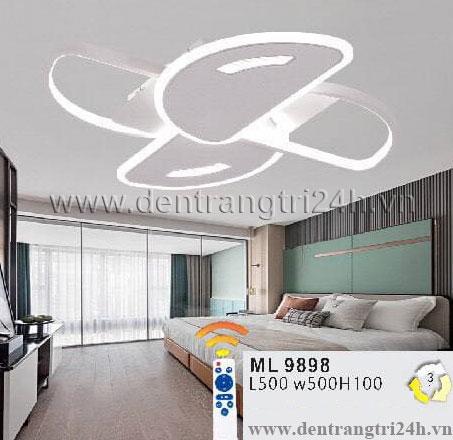 Đèn áp trần LED WQ5 ML 9898 L500xW500xH100
