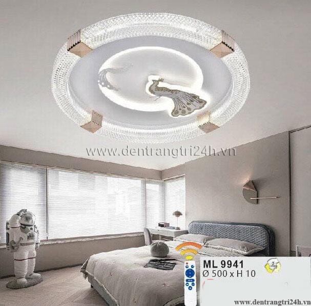 Đèn áp trần LED WQ5 ML 9941 Ø500xH10