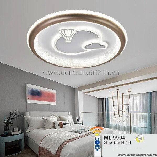 Đèn áp trần LED WQ5 ML 9904 Ø500xH10